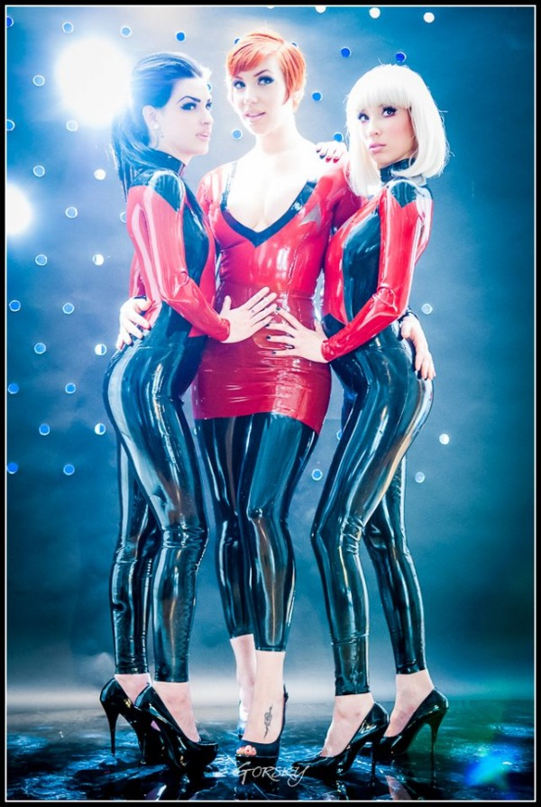Star Trek Latex Costumes