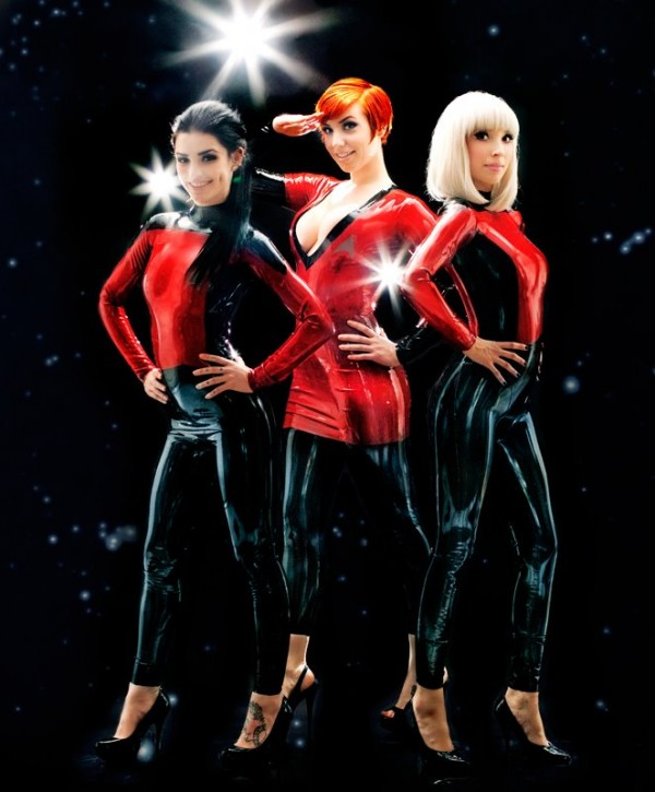 Starfleet Latex Costumes