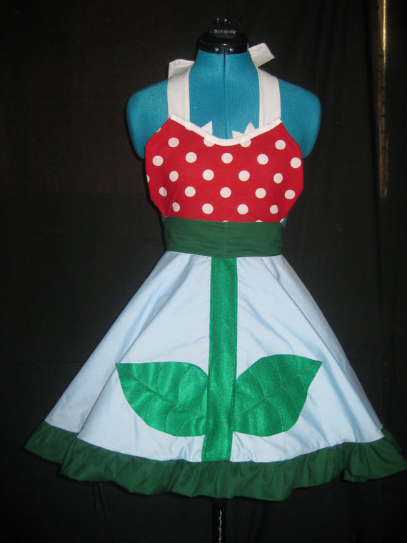 Piranha Plant Cooking Apron