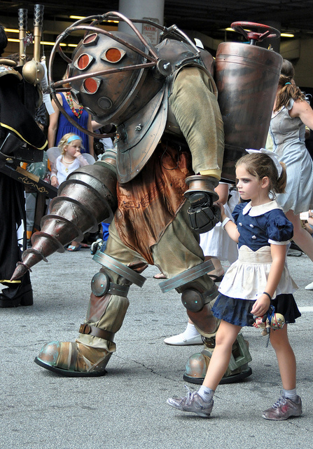Big Daddy and Little Sister Cosplay