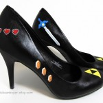 Hand-Painted Zelda High Heel Shoes [pic]