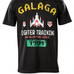 Galaga Fighter Training T-Shirt [pic]
