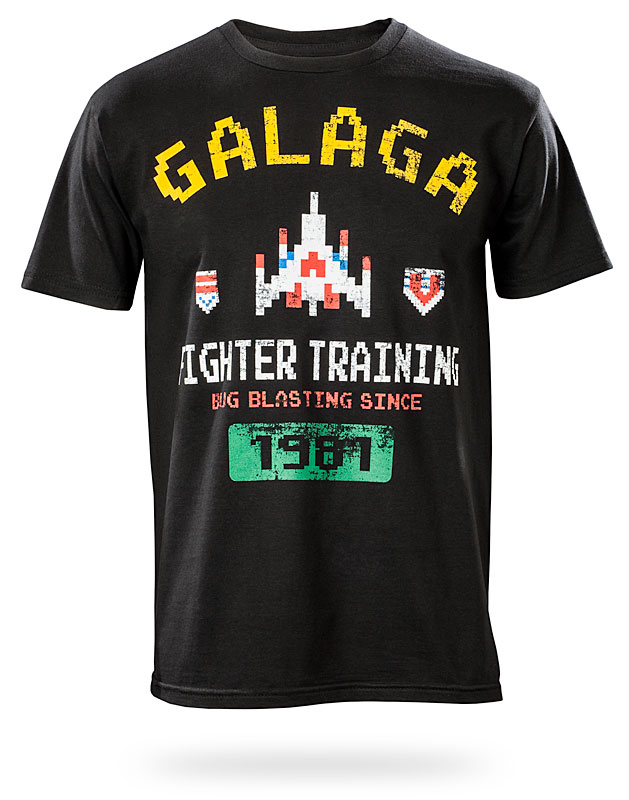 Galaga Fighter Training Shirt