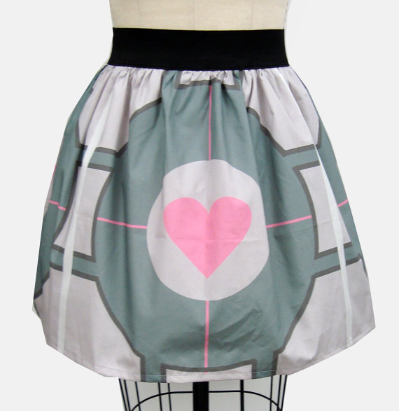 Companion Cube Skirt