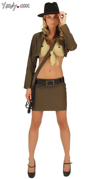 Female Indiana Jones Costume