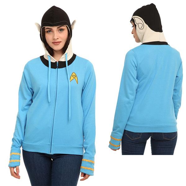 Spock Womens Hoodie