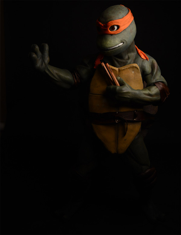 TMNT Replica Michelangelo Costume