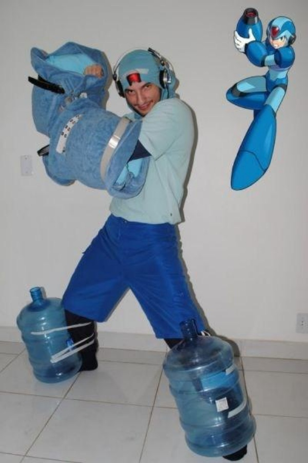 Bad Mega-Man Cosplay