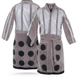 Doctor Who Dalek Bathrobe for the Whovian That Likes to Lounge [pic]