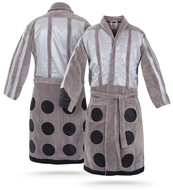 Dalek Bathrobe