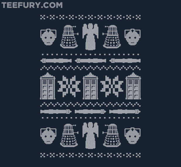 Doctor Who Winter Sweater Shirt