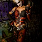 Harley Quinn Body Paint Cosplay