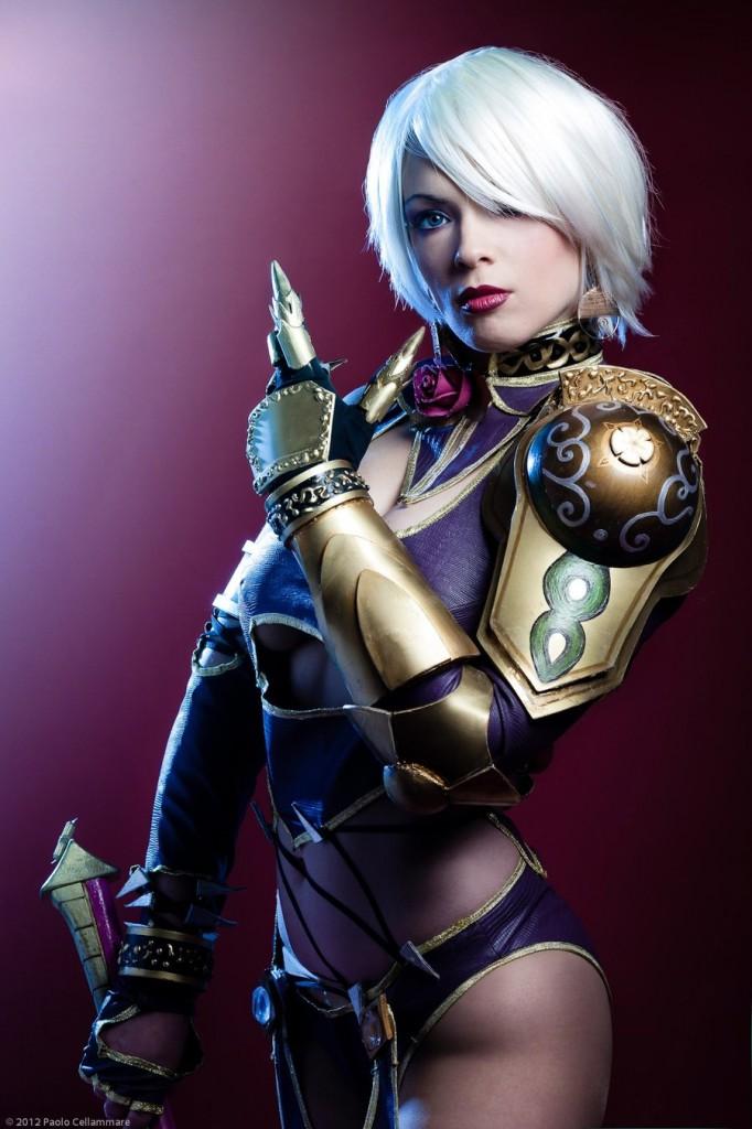 Soulcalibur V Ivy Valentine Cosplay