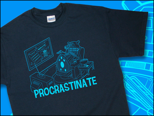 Dalek Procrastinate Shirt