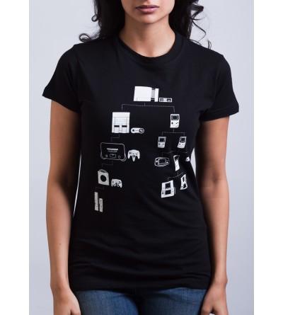 Nintend Family Tree Shirt