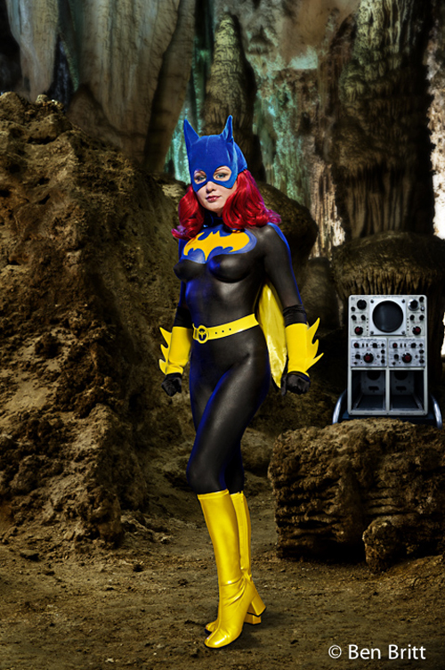 Batgirl Body Paint