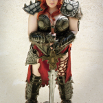 Female Barbarian Cosplay