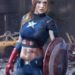 Female Captain America Cosplay is Sexy [pic]