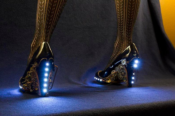Steampunk High Heels