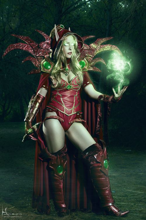 Valeera Sanguinar Cosplay