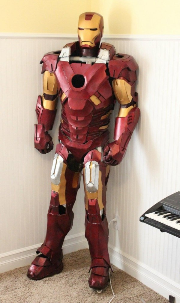 Iron Man Suit Cosplay Iron Man Cardboard Suit