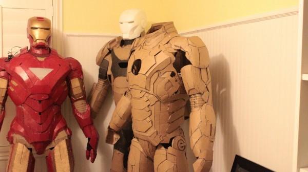 Iron Man Cardboard Suits