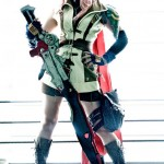 Lightning (a.k.a. Claire Farron) from Final Fantasy XIII Cosplay