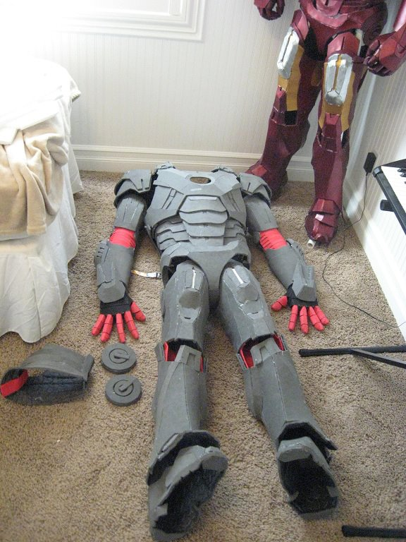 Iron Man Foam Suit