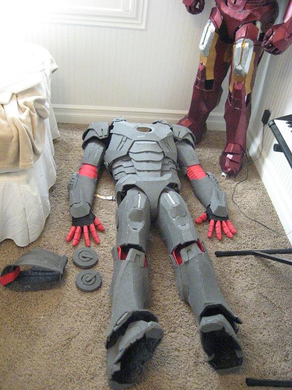 Iron Man Foam Suit