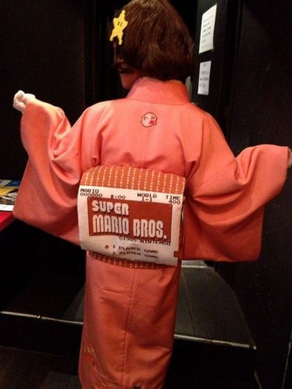 Super Mario Kimono