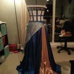 A Beautiful TARDIS Ballgown [pics]