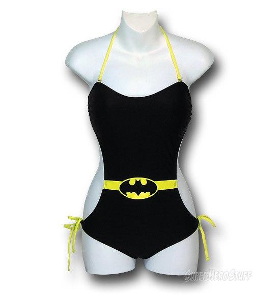 Batgirl Swimwear