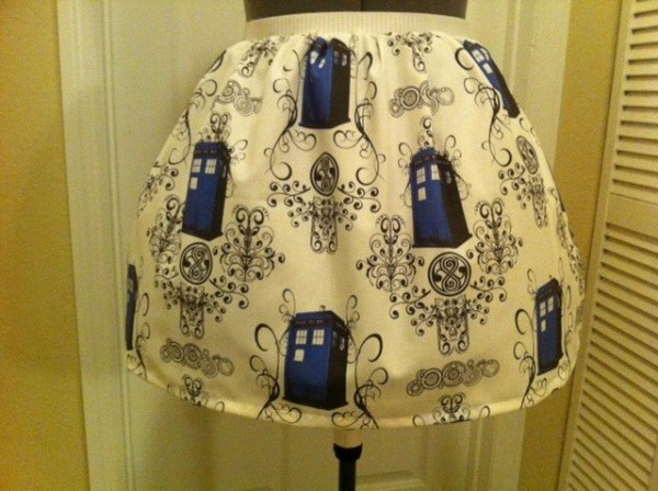 Doctor Who TARDIS Skirt