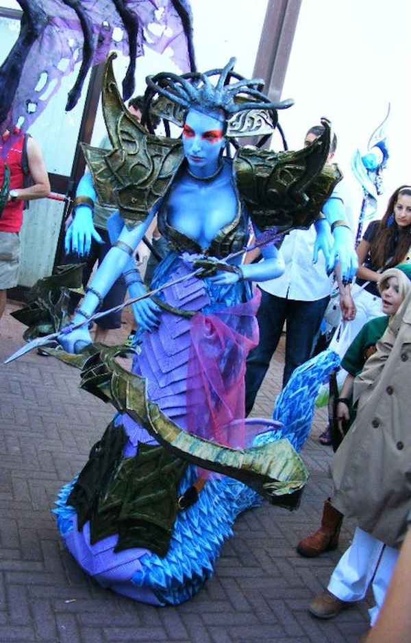 World of Warcraft Lady Vashj Cosplay