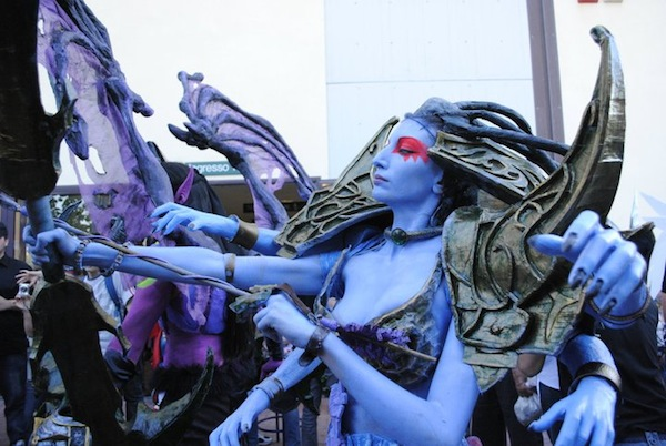 WoW Lady Vashj Cosplay