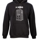 This Doctor Who TARDIS Pullover Hoodie is on Sale!