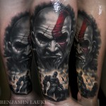 Incredible God of War Kratos Tattoo [pic]
