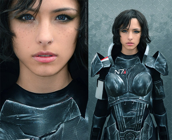 Mass Effect Femme Shepard Cosplay
