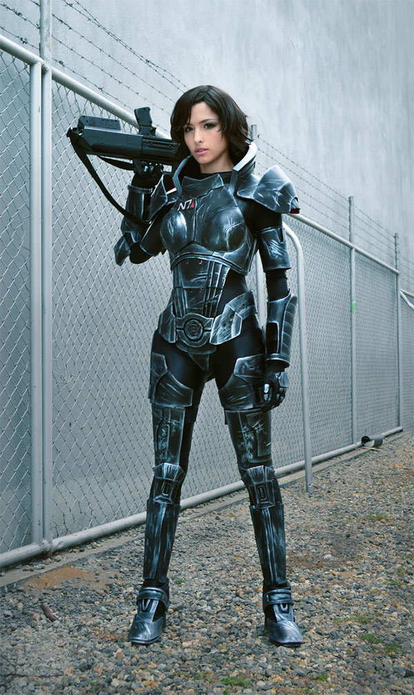 Mass Effect Female Shepard Cosplay