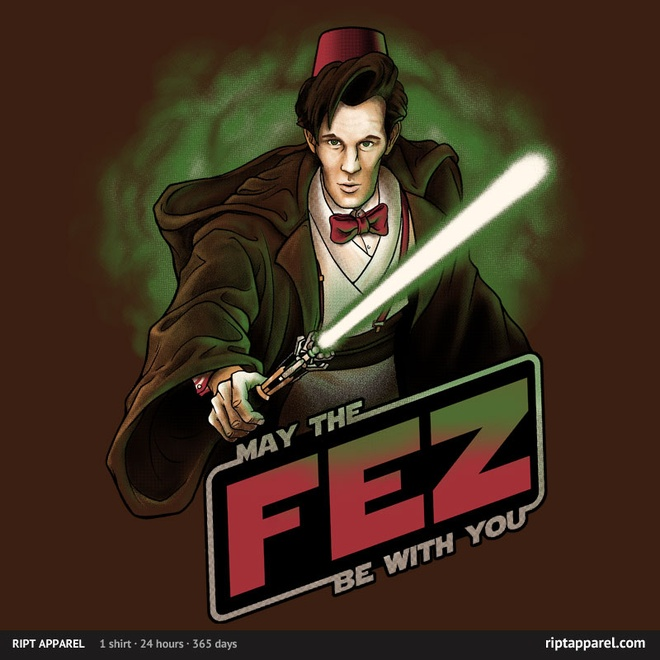 May the Fez Be With You Shirt
