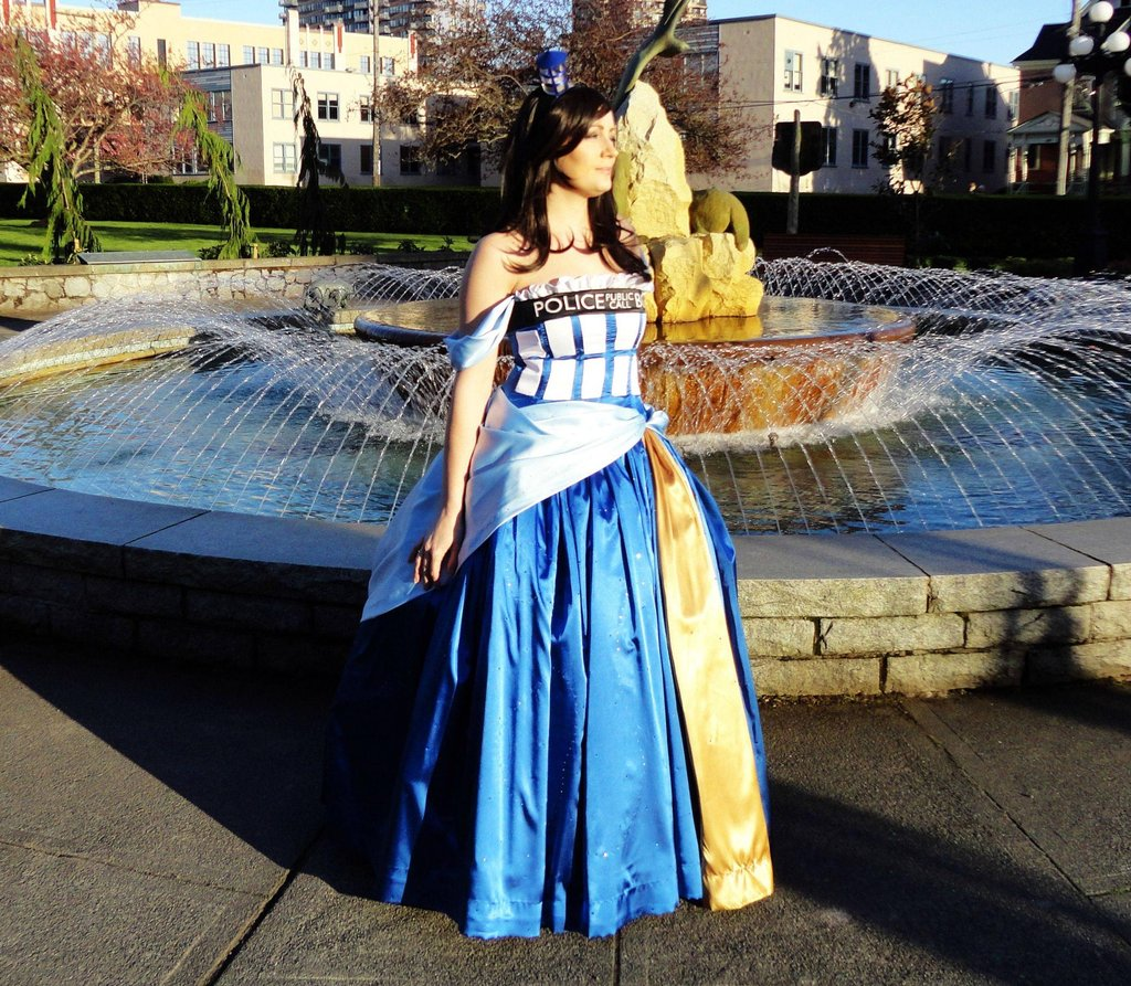 TARDIS Ballgown