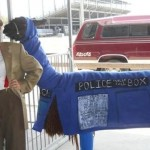 11th Doctor Cosplay and a TARDIS Llama.  Yes, You Read That Right