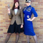 Female 11th Doctor and TARDIS Cosplay [pic]