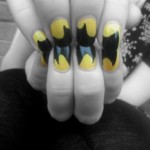 Clever Batman Fingernail Art [pic]