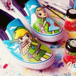 Custom Legend of Zelda: Wind Waker Shoes [pic]