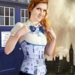 Doctor Who Corset and TARDIS Bow Tie [pic]