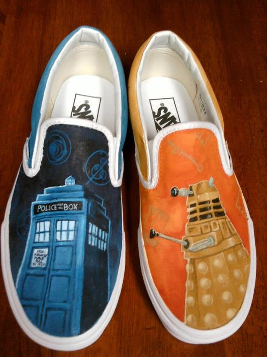 Doctor Who Shoes