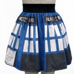 Printed Doctor Who TARDIS Skirt [pic]