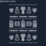 This Christmas Sweater Style Doctor Who Shirt is $10 TODAY ONLY [pic]