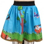 NES Fans Will Love This Duck Hunt Skirt!